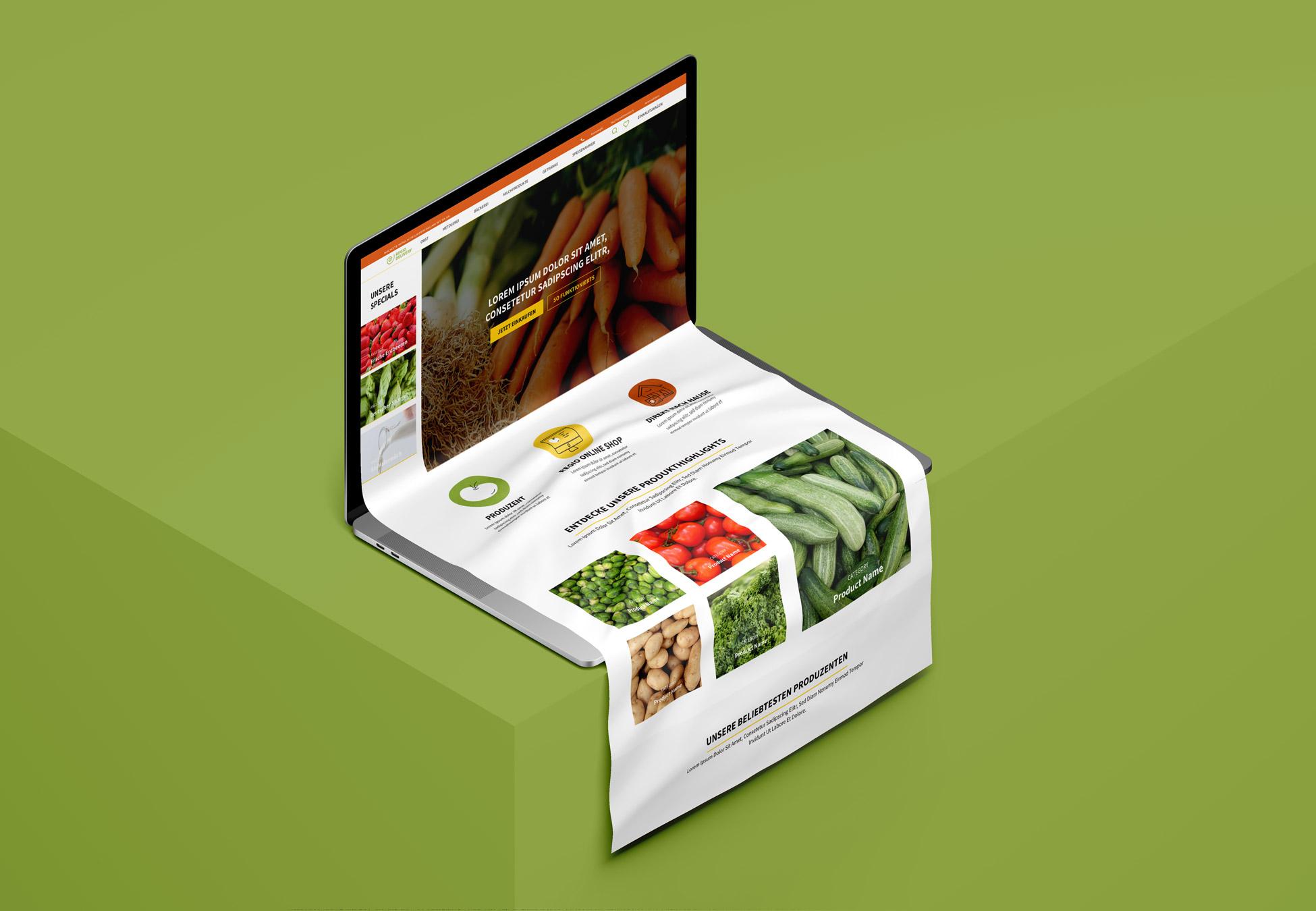 Webdesign Regio Delivery